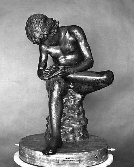 Boy with Thorn. 1st century BC. Bronze. Palazzo dei Conservatori, Rome.