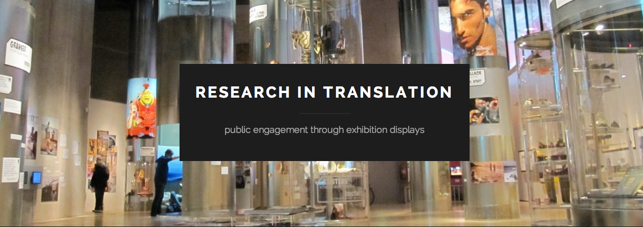 Research In Translation examines the ways in which research can be translated into and develop from exhibition.